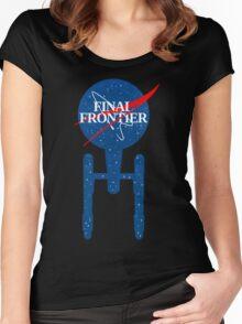 Final Frontier Women's Fitted Scoop T-Shirt