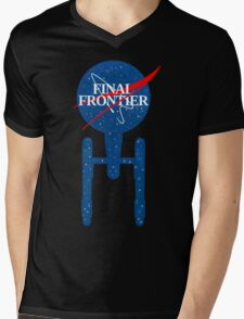 Final Frontier Mens V-Neck T-Shirt