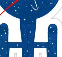Final Frontier Sticker