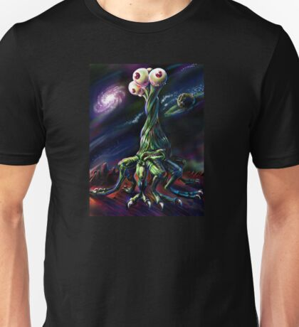 Three Eyed Dancer Unisex T-Shirt
