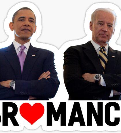 Obama -& Biden - Bromance Sticker