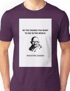 GANDHI QUOTE Unisex T-Shirt