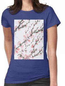 Cherry Blossoms, Sakura 2 Womens Fitted T-Shirt