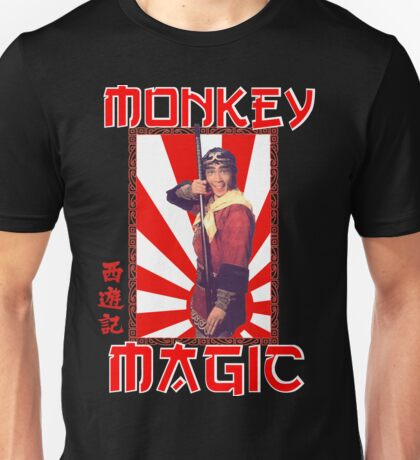Monkey Magic (for dark back) Unisex T-Shirt