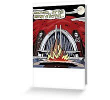 Haunt of Justice Greeting Card