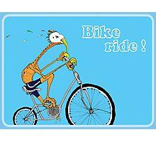 Bike Ride! Photographic Print