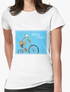 Bike Ride! Womens Fitted T-Shirt