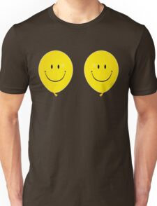 Happy Face Balloon All Smiles Unisex T-Shirt