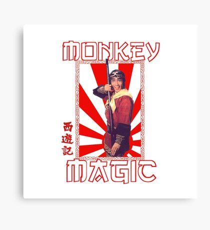 Monkey Magic (for light back) Canvas Print