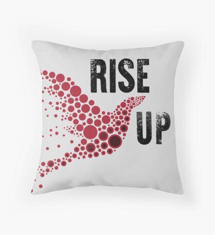 Falcons Rise UP Throw Pillow