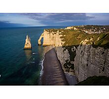 Steep Cliff - Travel Photography Photographic Print