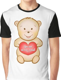 Valentine's Day You are beary special Graphic T-Shirt