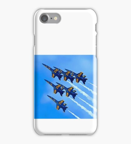 Into The Wild Blue Yonder iPhone Case/Skin
