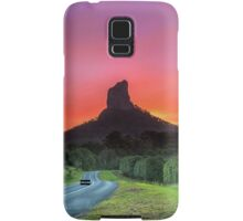 The Road to Mt Coonowrin - Glasshouse Mountains Qld Australia Samsung Galaxy Case/Skin