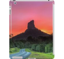 The Road to Mt Coonowrin - Glasshouse Mountains Qld Australia iPad Case/Skin