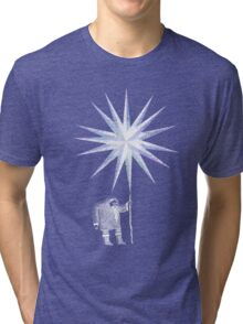 Old Man Winter Hermit and North Star Tri-blend T-Shirt