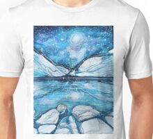 Rockies on a Starry Night Unisex T-Shirt