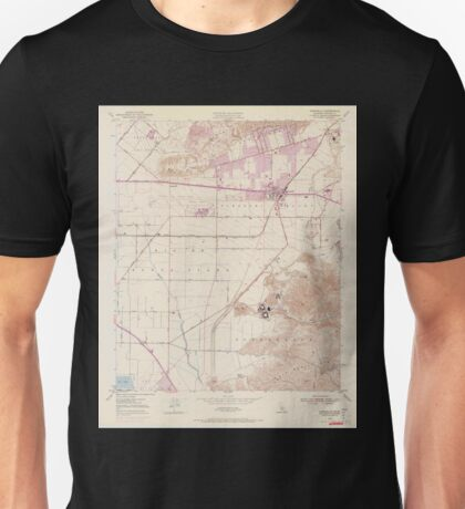 USGS TOPO Map California CA Camarillo 302574 1950 24000 geo Unisex T-Shirt