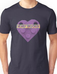 Valentines Day Toy Brick Heart Valentines Charm For Lavender Unisex T-Shirt