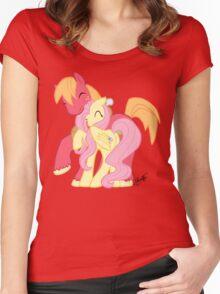 FlutterMac Women's Fitted Scoop T-Shirt