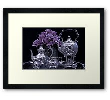 I Polished My Silver For You! Framed Print