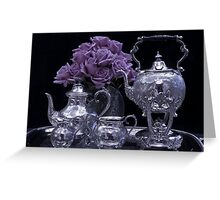 I Polished My Silver For You! Greeting Card