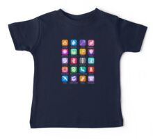 Potter Spell Icons Baby Tee
