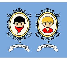 Arthur and Merlin Double Frames Photographic Print