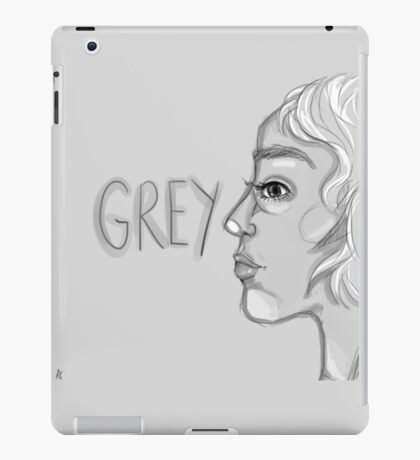 Today is Grey iPad Case/Skin