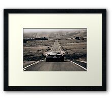 A dream within a dream. Framed Print