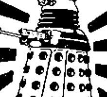 Doctor Who & Daleks Sticker