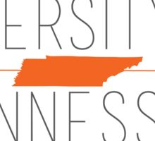 university of tennessee Sticker