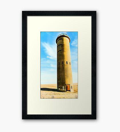 History on the Sand Framed Print