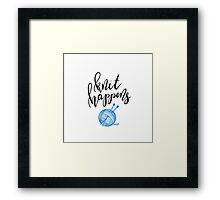 Knit Happens Framed Print
