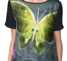 Dreams of Butterflies Chiffon Top