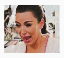 Kim Kardashian Crying by yungselfiegod