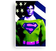 Who is Superman?  Canvas Print