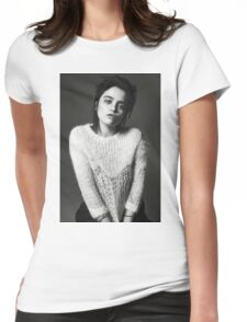 sky ferreira i-d mag Womens Fitted T-Shirt