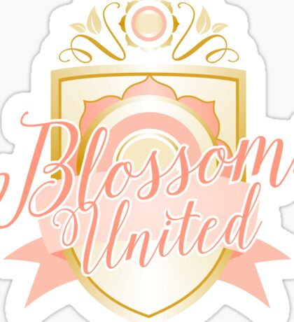 Blossoms United Team Goodies Sticker