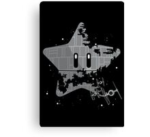 Super Death Star Canvas Print