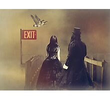 Exits... Photographic Print