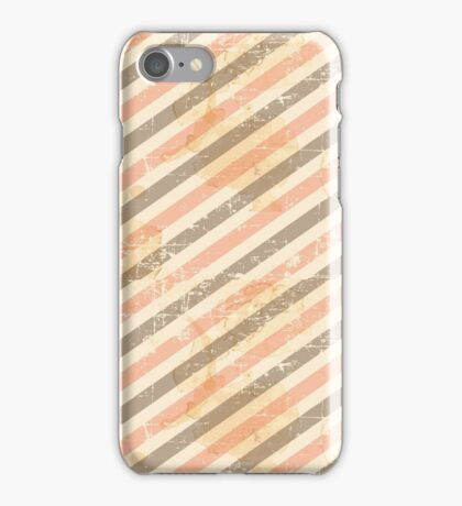 Dirty Grunge Stripes Pattern iPhone Case/Skin