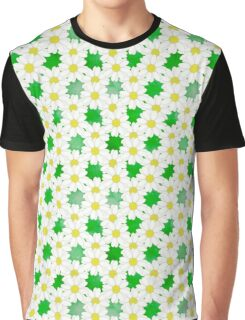 Daisies Spring Floral Daisy Flowers Summertime Art Graphic T-Shirt