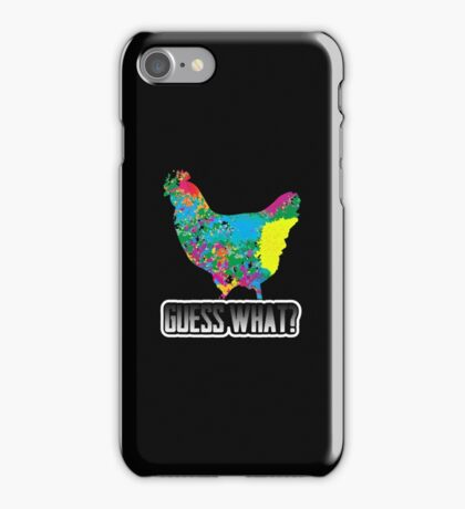 Guess What? Chicken Butt Funny Humorous Graphic T-Shirt iPhone Case/Skin