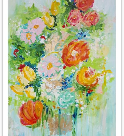 Delight Flowers Sticker