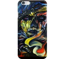 Abstract Jesus iPhone Case/Skin