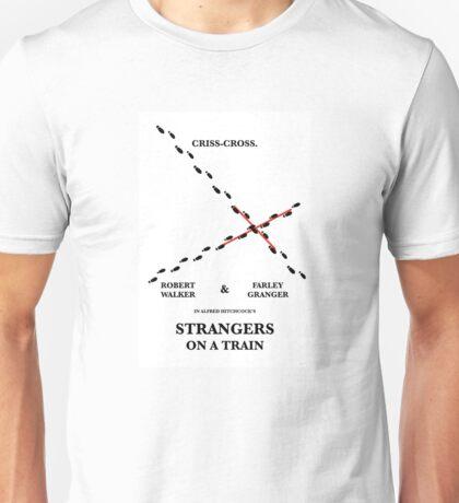 Criss-Cross Unisex T-Shirt