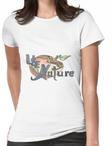 use Nature Organic Designs with Purpose Womens Fitted T-Shirt