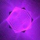 Ascending Pink Pentagram | Fractal Art | FutureLifeFashion.com by SirDouglasFresh