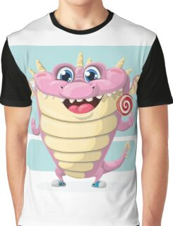 Lolly Dragon Graphic T-Shirt